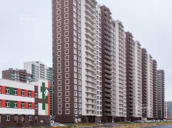 Фасады корпусов ЖК GreenЛандия